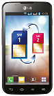LG Optimus L7 II Dual P715 Black